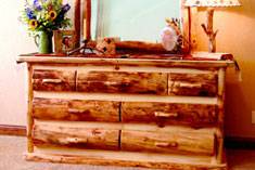 Heirloom Log Furniture Collection