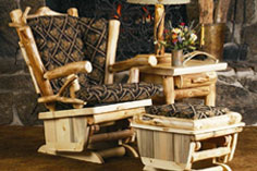 Rustic Art Log Furniture Collection