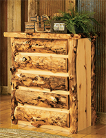 Aspen Grizzly Chest of Drawers