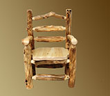 Aspen Grizzly Captains Dining Chair