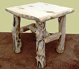 Aspen Grizzly End Table