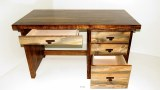 Wyoming Collection 4 Drawer Desk