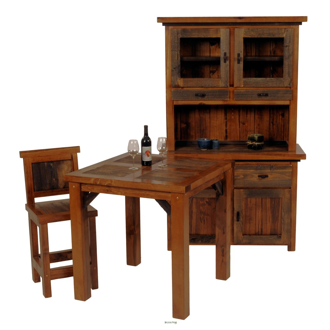 Etonnant Bring The Wild West Into Your Home With The Wyoming Collection Bistro  Table! The Bistro Table Is Sure To Stand Tall For Years To Come!