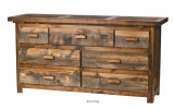 "Wyoming Collection 7 Drawer 72"" Dresser"